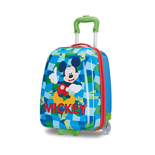 American Tourister Kids' Disney Hardside Upright Luggage, Mickey Mouse 2, Carry-On...