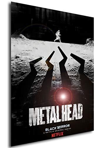 Instabuy Poster - TV Series - Black Mirror - Metalhead Manifesto 70x50