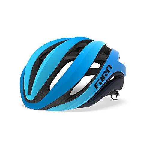 Giro - Aether MIPS - Casco de Carretera, Aether MIPS, Unisex Adulto, Color Azul Mate, tamaño Medium/55-59 cm