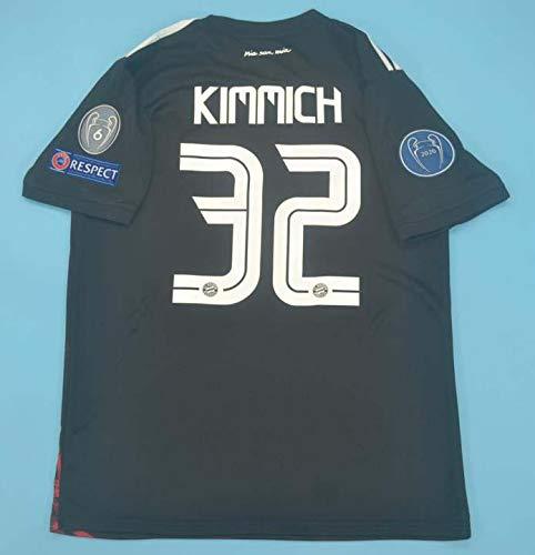 Joshua Kimmich#32 Trikot 2020-2021 Full Patch Black Color (S)