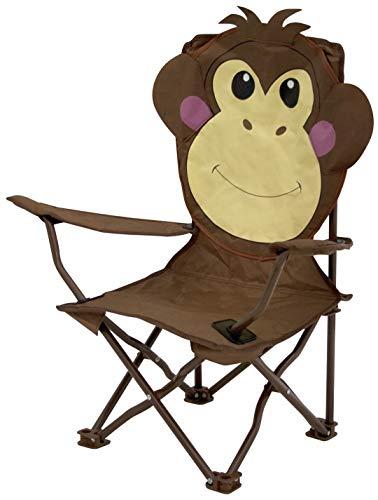 Euro Trail Chaise Pliante pour Enfant Motif Monkey