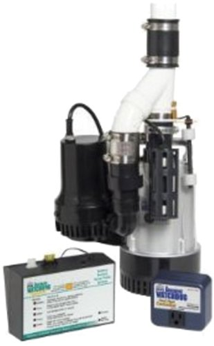 Basement Watchdog BW4000 1730 Gallons Per Hour Combination Primary and Back-Up Pump System