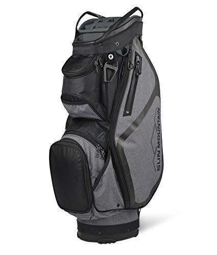 Sun Mountain 2021 Maverick Golf Cart Bag (Carbon-Black-Cement)