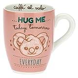THUN - Mug con Koala - Cucina, caffè al Volo - Idea Regalo, Tazza Porcellana - 300 ml; Box 19,5x12,5x11; Mug Ø 8,5