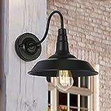 Applique da Parete Vintage Industriale Applique Interno Lampada Retro in Metallo per Cucina Bar Ristorante Salotto Caffè Loft Cucina Giardino