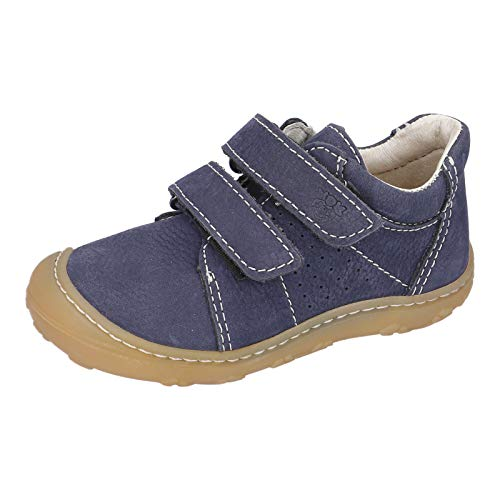 RICOSTA Kinder Low-Top Sneaker Tony von Pepino, Weite: Mittel (WMS), Klett-Verschluss Kinder Kids Jungen Kinderschuhe toben,See,25 EU / 7.5 Child UK