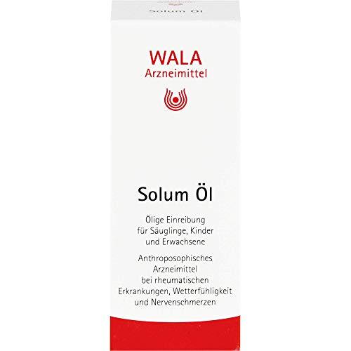 WALA Solum Öl bei rheumatischen Erkrankungen, Wetterfühligkeit und Nervenschmerzen, 50 ml Öl