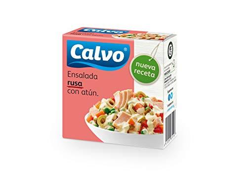 Calvo Ensalada Rusa con Atún - Paquete de 24 x 150 gr - Total: 3600 gr