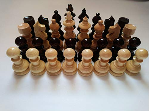 Hecho a mano Nuevos Grande, Enorme, Hermosas husillo Especial para Las Manos Piezas de ajedrez de Madera, el Rey es 11 cm