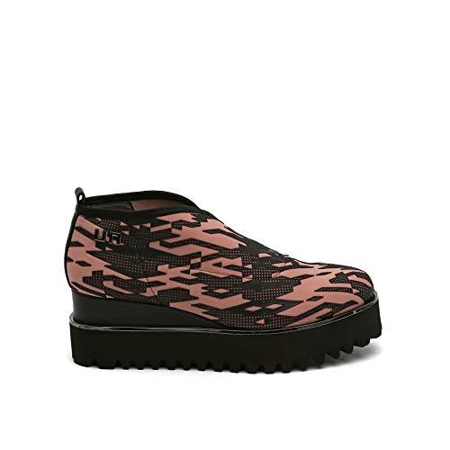 United Nude Damen Sneaker Plateauschuhe mit 8,5 cm Absatz Fold Casual (38 EU, Blush Geo)