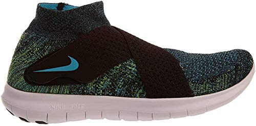 NIKE - Low boots NIKE FREE RN MOTION FLYKNIT fabric multicolored boots 880845-004... - 880845-004 - 880845004-41