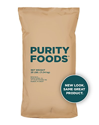 Purity Foods VitaSpelt Organic Whole Grain Spelt Flour 25 lb. bag