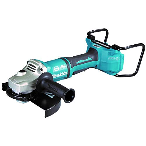 Makita DGA901ZUX2 (36V) Twin 18V Li-Ion LXT Brushless 230mm Angle Grinder - Batteries and Charger Not Included