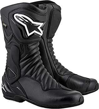 Bottes Moto Alpinestars SMX-6 V2 Goretex Black Black, Noir/Noir, 43