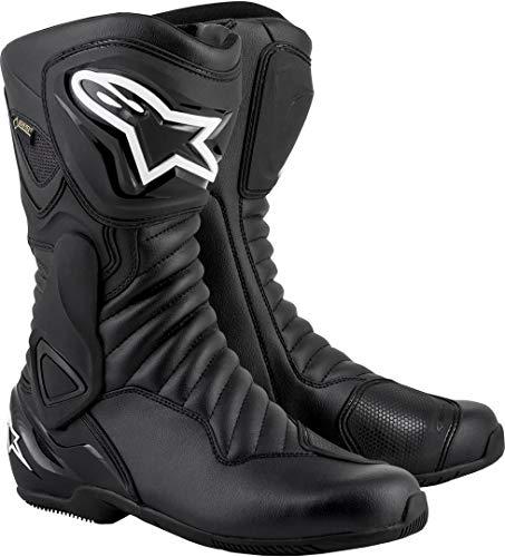Bottes moto Alpinestars Smx-6 V2 Goretex Black Black, Noir/Noir, 36