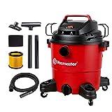 Vacmaster Red Edition VJF910PF 1101 Portable Wet Dry Shop Vacuum 9 Gallon 4 Peak HP 1-1/2 inch Hose