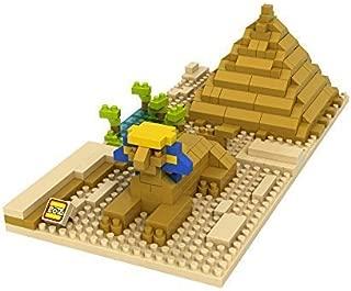 LOZ 9376 Building Blocks, Brown