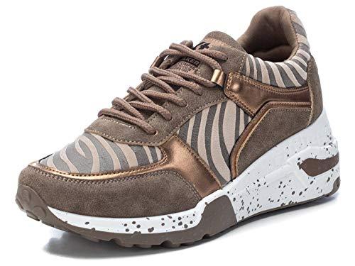 XTI 44599, Zapatillas Mujer, Bronce, 39 EU