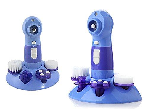 Premium hoogwaardige gezichtsreinigingsborstel (elektrisch) 4 opzetstukken - gezichtsmassage gezichtsreiniging massageborstel gezichtsmassageapparaat massageapparaat massageapparaat anti-cellulitis roller massageroller massager