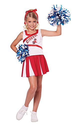 California Costumes High School Cheerleader Costume, 6-8