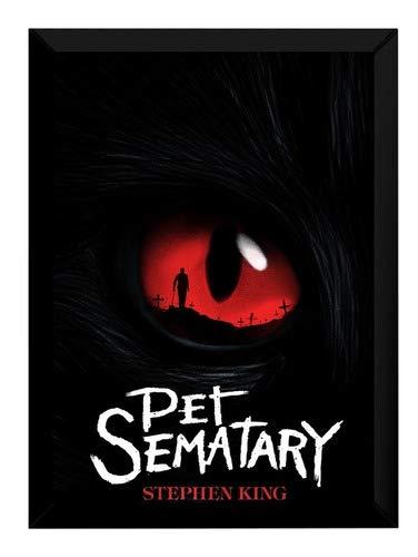 Quadro Pet Sematary Cemitério Maldito Arte Poster Moldurado