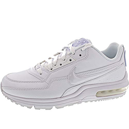 Nike Mens Air Max Ltd 3 Sneaker, White/White-White, 43 EU