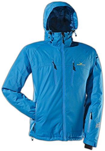 Black Crevice Herren Ski- und Snowboardjacke, blau, 54, BCR251003