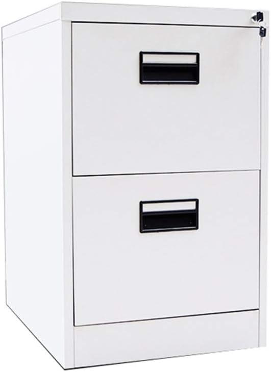 Alternative dealer 1 year warranty RUCC 2-layer File Cabinet Storage White Belt Iron Lock A4