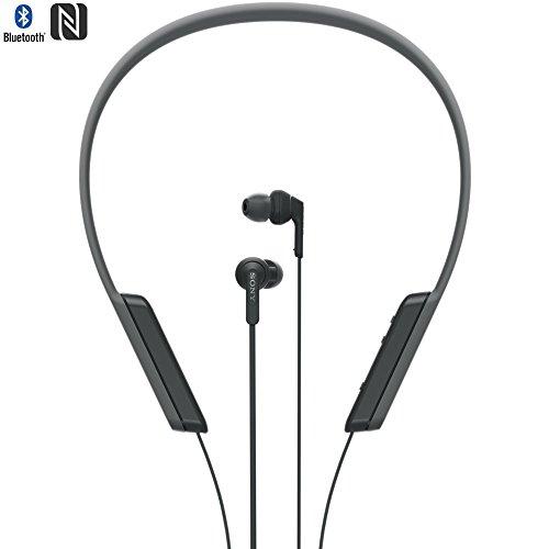 Sony MDR-XB70BT/B Wrap Around In-Ear Wireless Headphones with Bluetooth NFC (Renewed)