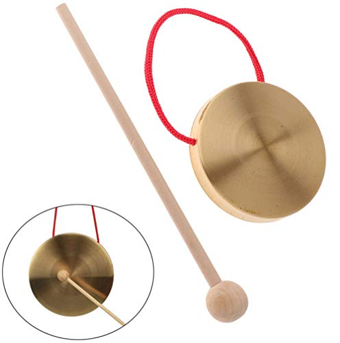 Tzong Mini Gongs Tambourine Cymbals Percussion Musical Instruments