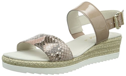 Gabor Shoes 45.590 Damen Slingback Sandalen, Mehrfarbig (84 rouge/antikrosa), 38 EU (5 UK)