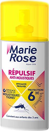 MARIE ROSE Spray Repulsif/Apaisant Anti-Moustiques 6 H