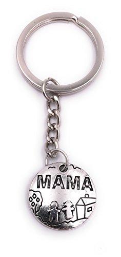 H-Customs Llavero día Madre Hotel Mama Colgante Metal