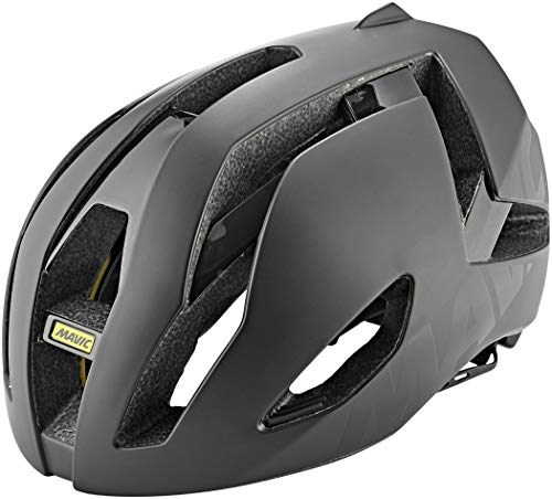 MAVIC Comete Ultimate - Casco para bicicleta de carreras, talla L (57-61 cm), color negro