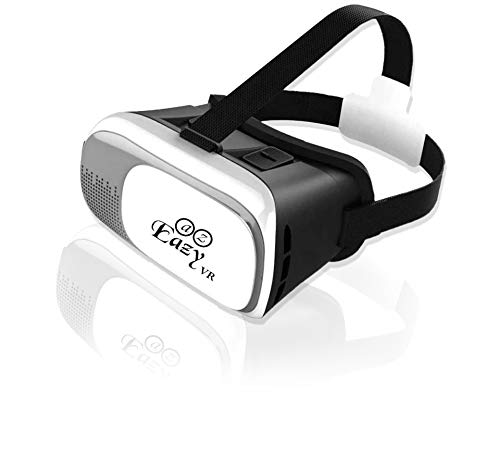 AZ Eazy VR Headset | VR 3D Virtual Reality Glasses Headset Goggles | Compatible with iPhone & Android Phone With 3.5'-6.0' | Best for Games and Movies.