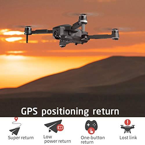 Dreameryoly Drone Quadcopter Plegable RC con cámara 4K HDR Video en Vivo, 1080P 5G WiFi GPS Posicionamiento Inteligente Seguimiento de aplicación Drones de Control Helpful