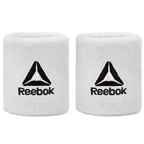 Reebok RASB-11020WH Sports Wristbands - White