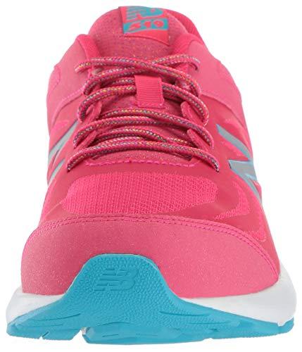 New Balance - Chaussures KJ519V1Y pour garçon, 33 EUR - Width W, Pomegranate/Vortex