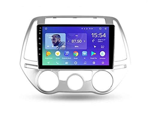 GPS WiFi Car Radio-Stereo-Player für Hyundai I20 PB 2012~2014 Touchscreen Sat NAV Android Multimedia Navigator Medienunterstützung BT SWC Mirror Link 4G Internet,4core 4g WiFi 1+32