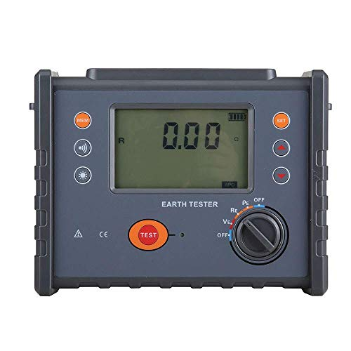 SXM-SXM FR3010E Ground Resistance Soil Resistivity Meter Four-wire Grounding Resistance Tester The Soil Resistivity Tester Multimeter Tester