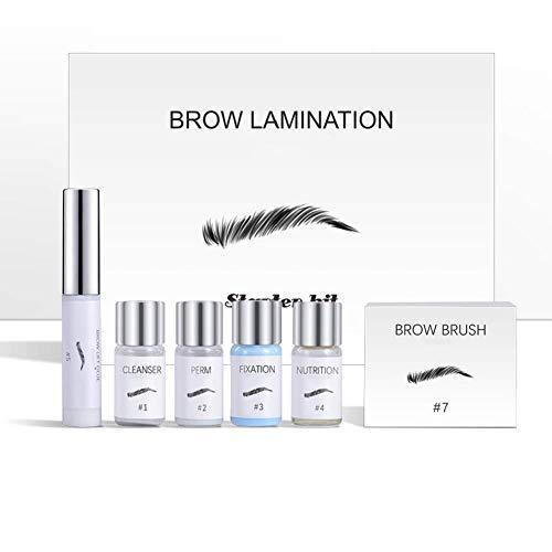 Eyebrow Lamination Kit,Professional Eyebrow Lift Kit,DIY Perm For Brows,Eyebrows Lift Styling Kit...
