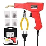 KKmoon 50W Grapadora de Caliente de Soldadores Plastico Máquina PVC Kit de Máquina de Reparación de Parachoques de Coche Herramienta de Soldadura, Herramientas de Garaje
