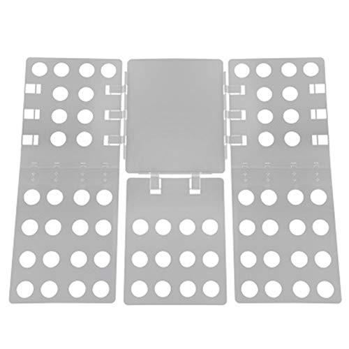 ZzheHou Tablero Plegable De Ropa Tablero de Planchado Plegable Perezoso fácil de Plegar y Usar (Color : Gris, Size : 68x58cm)