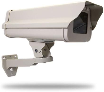 Qihan Security CCTV Surveillance Outdoor Camera Weatherproof Heavy Duty Housing Box with IR Illuminators and Heater Blower Included
