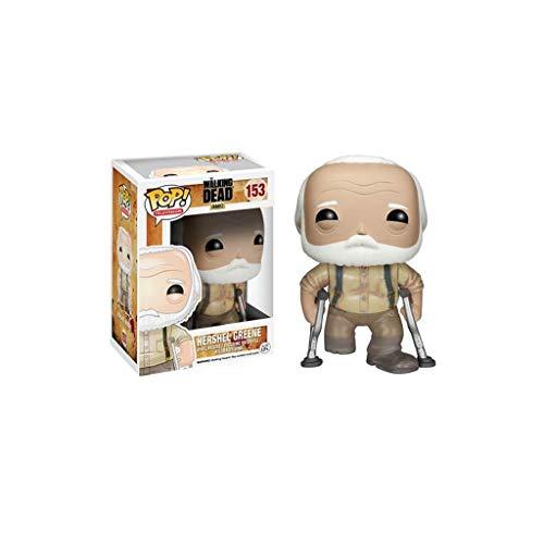 YYBB Pop TV: The Walking Dead - Hershel Vinyl Figure e Exquisite Box Collection Vetrina Decorativi Giocattoli Popolari Personaggi 3,9 Pollici Figurines