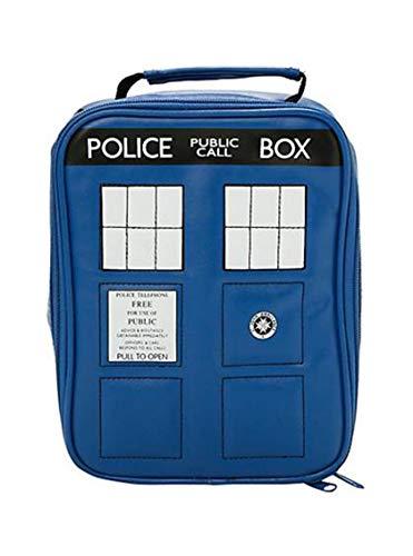 Doctor WHo TARDIS Police Box Insulated Cooler Bag