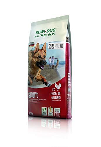 BEWI DOG Sport [12,5 kg] Hundefutter | Trockenfutter für sportliche & aktive Hunde | ohne Weizen & Soja | für erwachsene Hunde aller Rassen