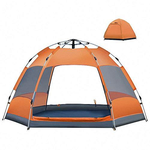 Qazxsw Carpa Domo Automático Instantáneo Camping Impermeable Hidráulico Anti UV 6 a 8 Personas Carpas de Festival Camping al Aire Libre Senderismo Viajes Familia