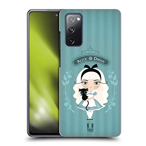 Head Case Designs Alice and Dinah Alice in Wonderland Hard Back Case Compatible with Samsung Galaxy S20 FE / 5G