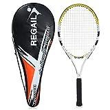 MLPNJ 1 Pc Raquettes De Tennis en Carbone Pratique Formation Raquette De Tennis avec Housse pour Intérieur en Plein Air Hommes Et Femmes